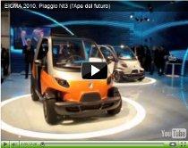 Weltpremiere des Piaggio NT3 – Stadtauto mit Hybridantrieb geplant