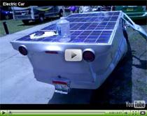 Selbstgebaut: Elektro-Solar-Auto beim Earth Day Event in Orlando