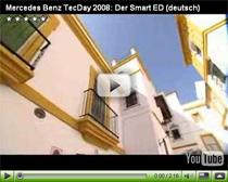 Der Smart ED auf dem Mercedes Benz TecDay 2008 in Sevilla
