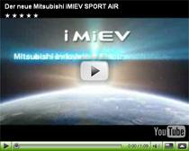 Computeranimation der Studie Mitsubishi i-MIEV Sport Air