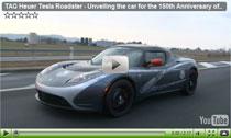 Zum 150. Jubiläum: Der TAG Heuer Tesla Roadster