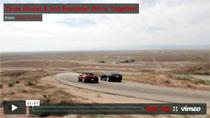 Video: Tesla Model S und Roadster gemeinsam auf der Strasse