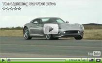 Testfahrt mit dem Elektro-Sportwagen Lightning GT