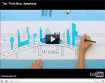 Think Blue.: Mit vier Design-Awards ausgezeichnete VW-Initiative (Anzeige)