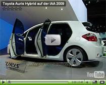 Toyota Auris Hybrid auf der IAA 2009