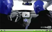 Werbespot für den 2010 Toyota Prius mit der Blue Man Group
