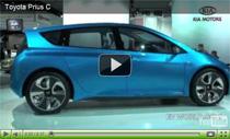 Der Toyota Prius c auf der Detroit Auto Show 2011