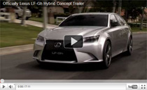 Offizieller Video-Trailer zum Lexus LF-Gh Hybrid Concept