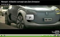 Die vier futuristischen Renault Elektroautos von der IAA in einem Video