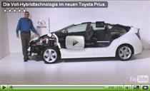 Video-Erklärung zur Voll-Hybridtechnologie des neuen Toyota Prius