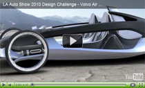 Ultra-leichter Roadster: Idee des Volvo Air Motion Concept Car
