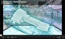 Video: Das Batteriesystem des Volvo C30 Electric