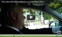 Volvo C30 DRIVe Electric: Video von der LA Auto Show