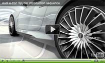 Vorstellung des Audi e-tron Spyder