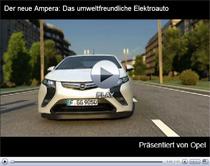 Opel Ampera: Vorstellung des neuen Elektroautos (Anzeige)