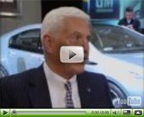 GM stellt das Elektroauto Chevrolet Volt vor