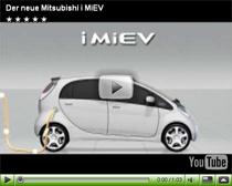 Vorstellung des neuen Elektroautos Mitsubishi i-MiEV
