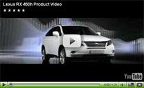 Video-Vorstellung des neuen Hybrid-SUV Lexus RX 450h