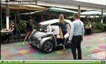 Vorstellung des E-Autos Peugeot BB1