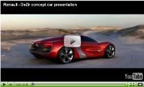 Video-Vorstellung des Elektrosportwagens Renault DeZir