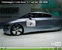 """VW 1-Liter-Auto """"L1"""" auf der IAA 2009"""
