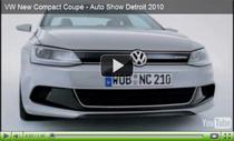 Hybrid-Studie VW New Compact Coupé