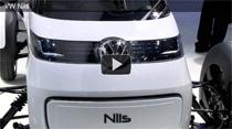 Video: Das Elekrofahrzeug VW Nils auf der IAA 2011