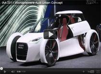 Video: Weltpremiere des Audi Urban Concept auf der IAA 2011