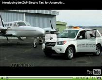 Vorstellung des ZAP Elektro-Taxis