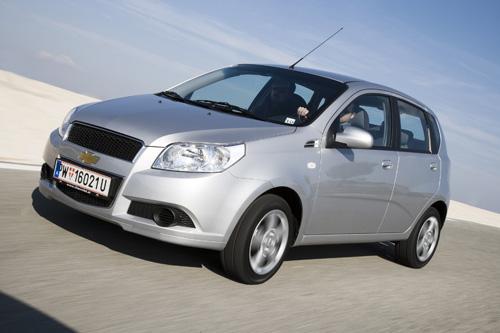 Chevrolet Aveo mit Autogasanlage erhältlich