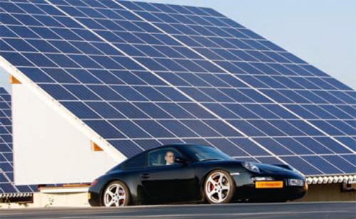 eRUF - Porsche mit Elektroantrieb