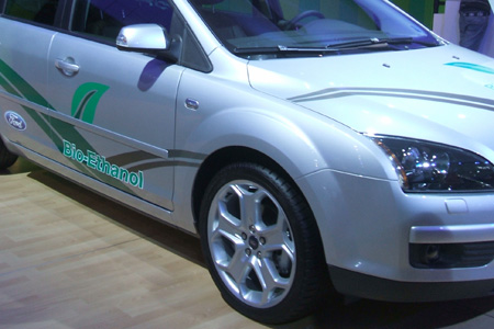 Ford mit Bio-Ethanol Antrieb