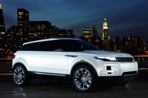Land Rover LRX Diesel Hybrid