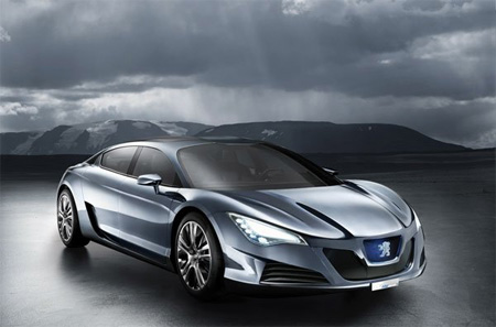Hybrid-Studie Peugeot RC HYmotion4