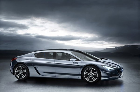 Peugeot Concept Car RC HYmotion4