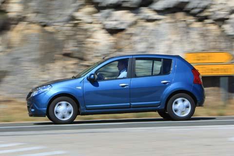 Dacia Sandero 1.4 MPI LPG