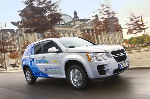 Brennstoffzellenfahrzeug GM HydroGen4