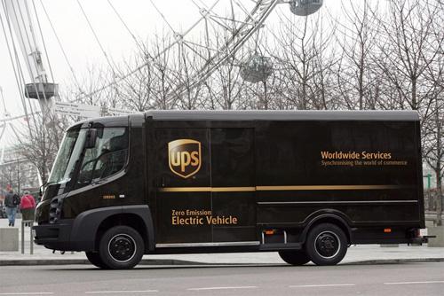 UPS fährt jetzt auch lokal Emissionsfrei