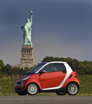 Der Kleinwagen Smart erobert die USA