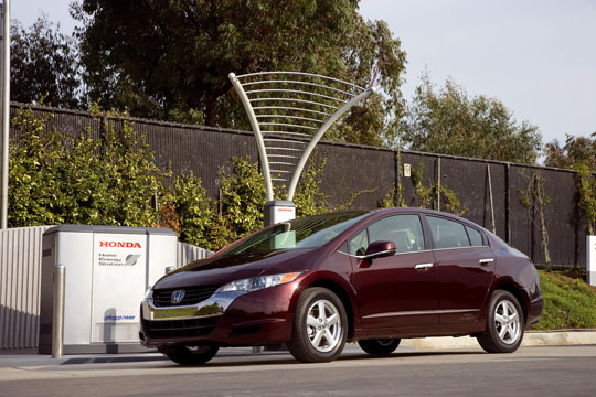 Brennstoffzellenfahrzeug Honda FCX Clarity