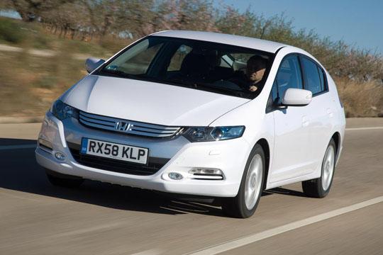Hybrid-Fahrzeug Honda Insight von Vorne