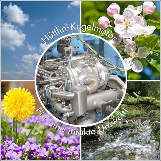 Hüttlin-Kugelmotor für eine intakte Umwelt