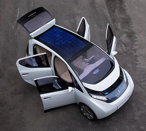 Elektroauto Pininfarina B0 (B-Zero)