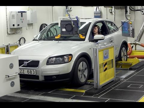 Volvo Emissionslabor