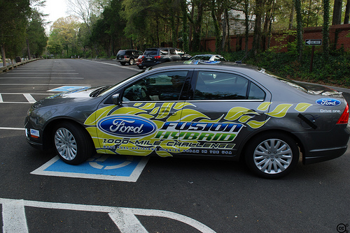Ford Fusion Hybrid bei der 1000 Miles Challenge
