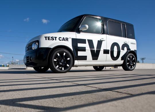 Elektroauto von Nissan