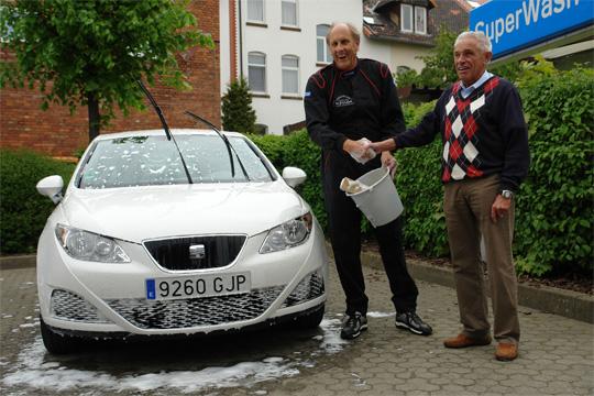 Glücklicher Sieger der Sprittsparwette: Hans-Joachim Stuck