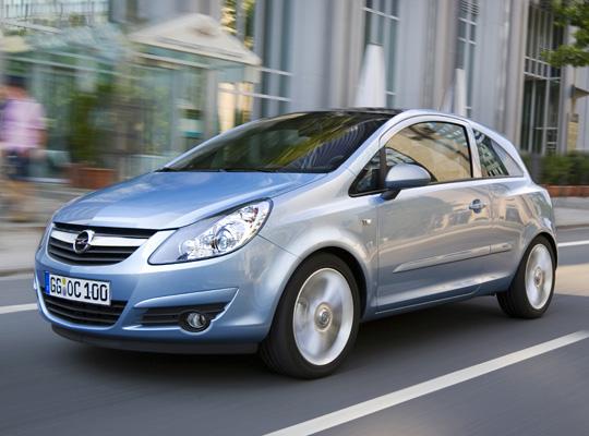 Opel Corsa neuer Bestseller bei den Kleinwagen im April 2009