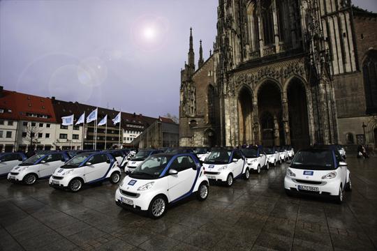Neues Mobilitätskonzept Car2Go in Ulm auf Erfolgskurs