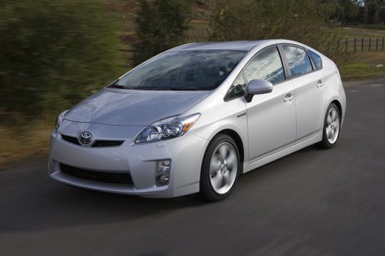 Die dritte Generation des Hybridfahrzeugs Toyota Prius